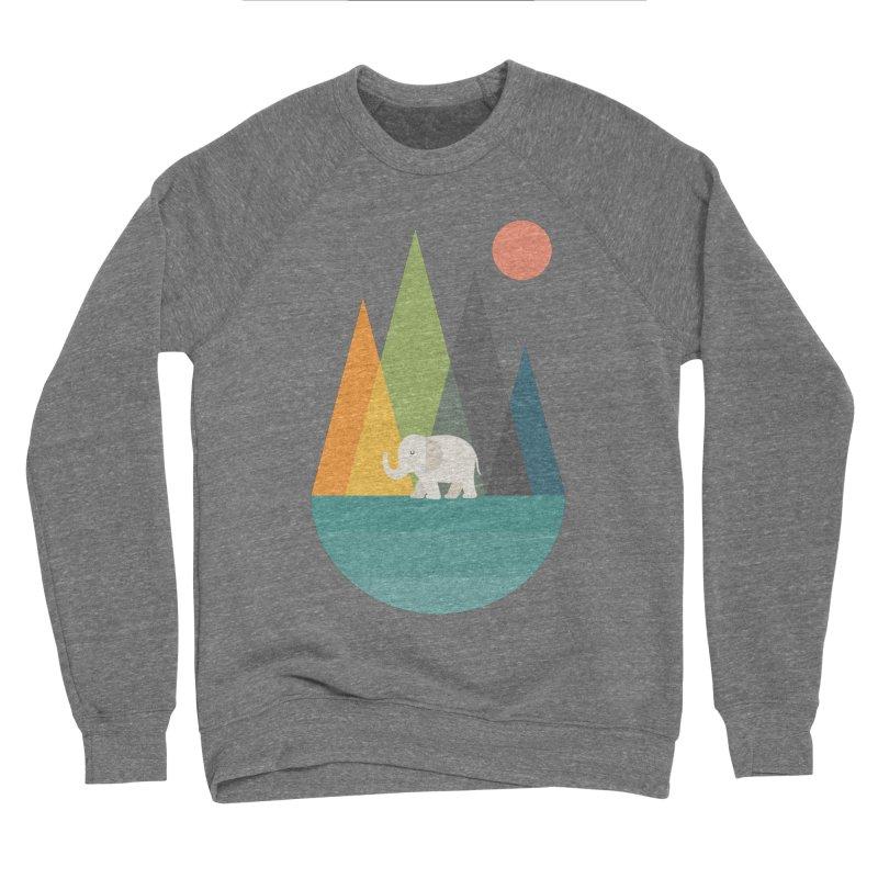 Walk In Peace Men's Sponge Fleece Sweatshirt by andywestface's Artist Shop