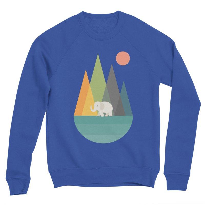 Walk In Peace Women's Sponge Fleece Sweatshirt by andywestface's Artist Shop