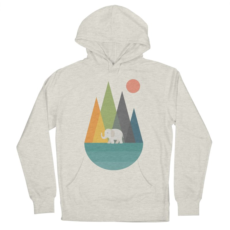 Walk In Peace Women's French Terry Pullover Hoody by andywestface's Artist Shop