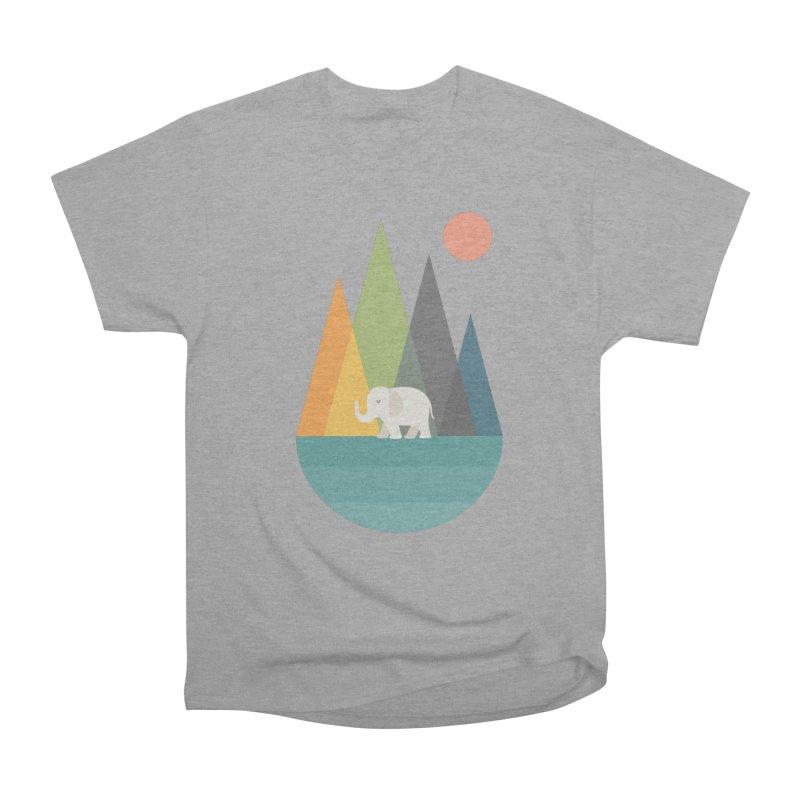 Walk In Peace Men's Heavyweight T-Shirt by andywestface's Artist Shop