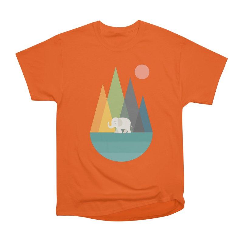 Walk In Peace Women's Heavyweight Unisex T-Shirt by andywestface's Artist Shop