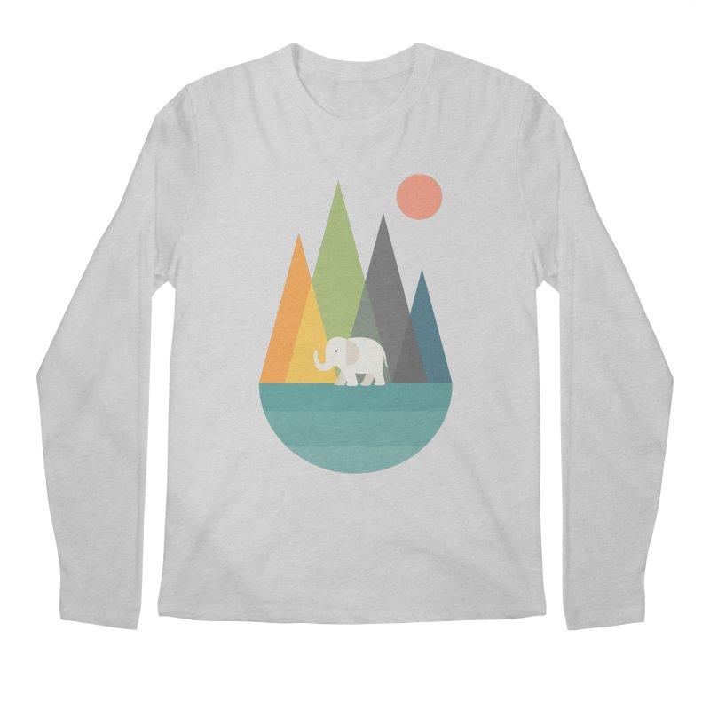 Walk In Peace Men's Regular Longsleeve T-Shirt by andywestface's Artist Shop