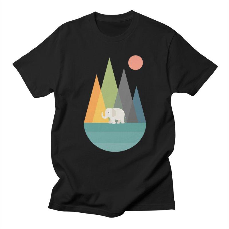 Walk In Peace Men's Regular T-Shirt by andywestface's Artist Shop
