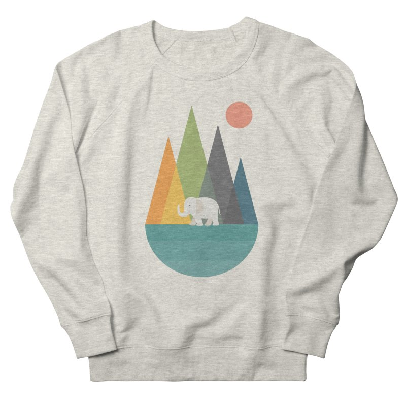 Walk In Peace Women's French Terry Sweatshirt by andywestface's Artist Shop