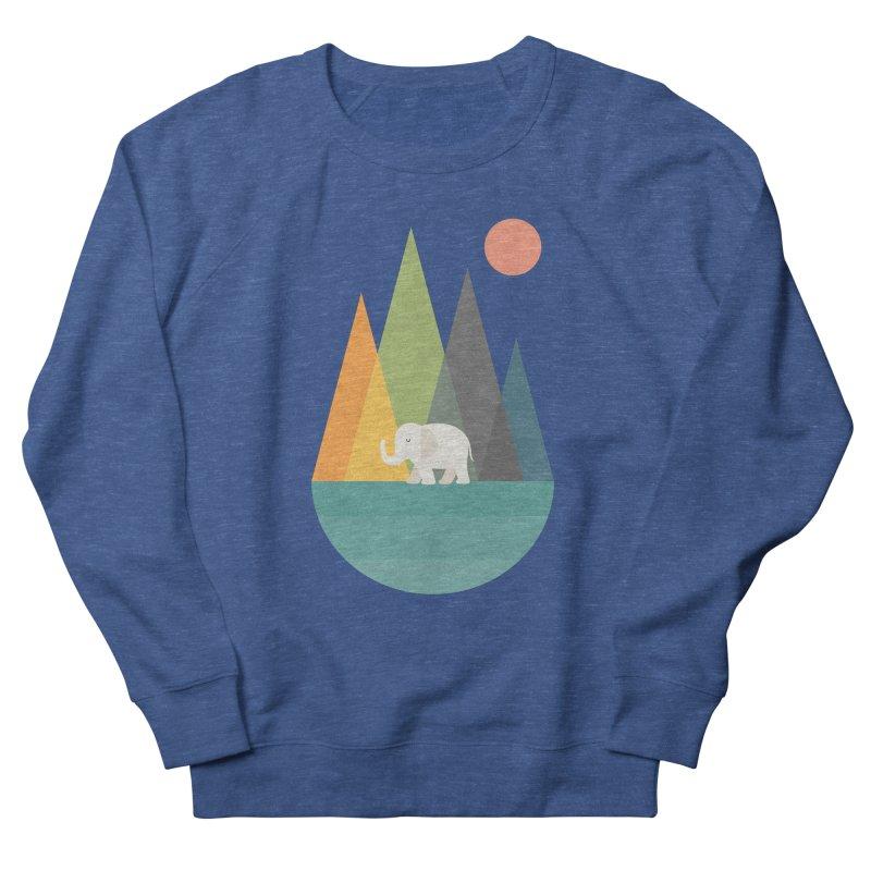 Walk In Peace Men's French Terry Sweatshirt by andywestface's Artist Shop