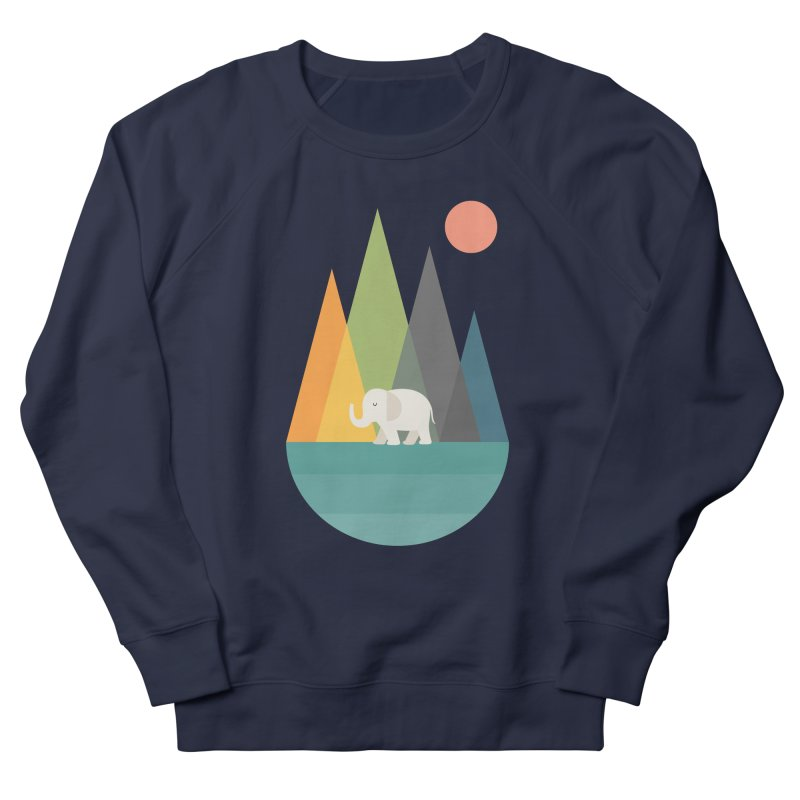 Walk In Peace Men's French Terry Sweatshirt by andywestface's Artist Shop