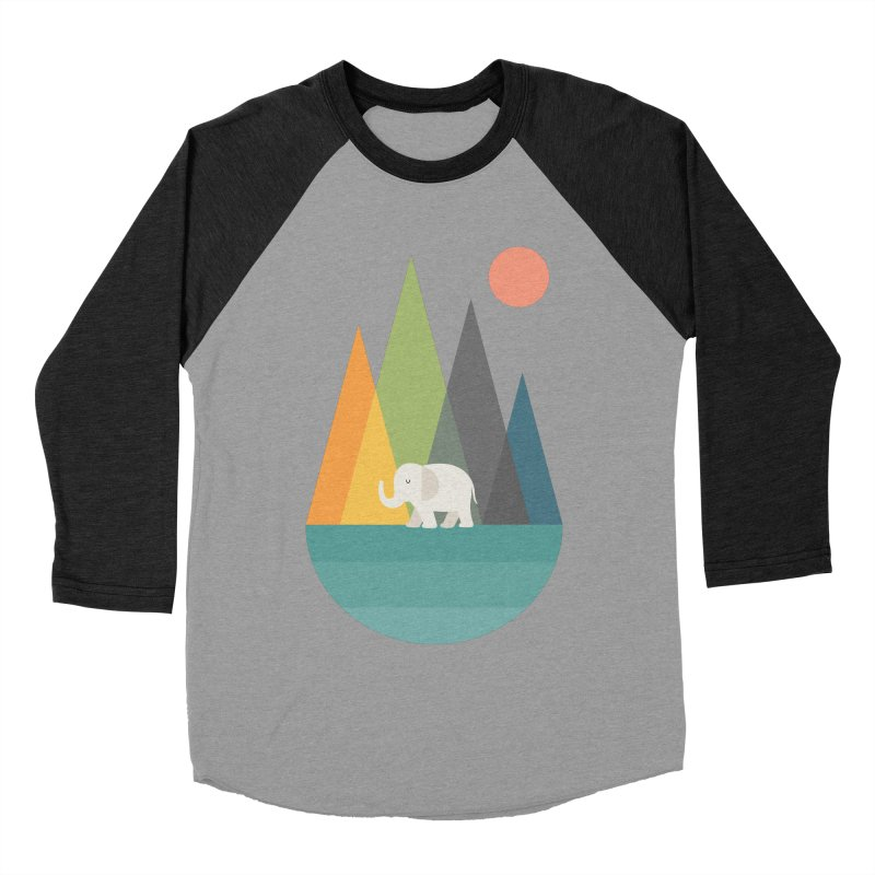 Walk In Peace Men's Baseball Triblend Longsleeve T-Shirt by andywestface's Artist Shop