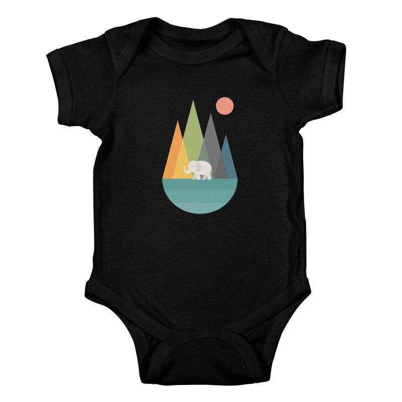 Walk In Peace Kids Baby Bodysuit by andywestface's Artist Shop