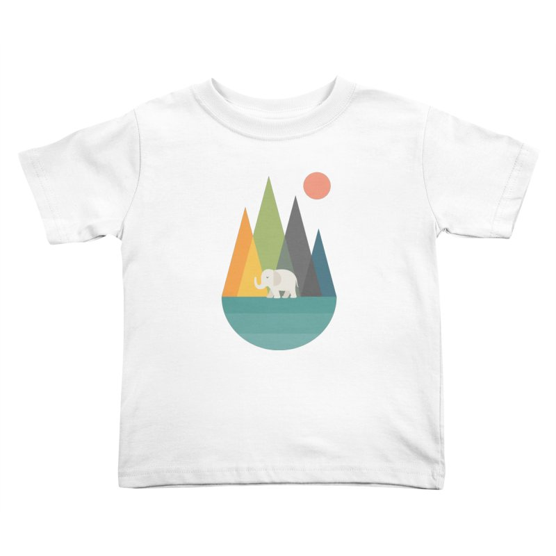 Walk In Peace Kids Toddler T-Shirt by andywestface's Artist Shop
