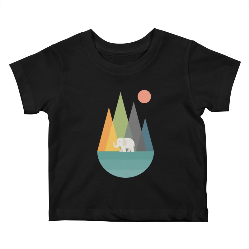 Walk In Peace Kids Baby T-Shirt by andywestface's Artist Shop