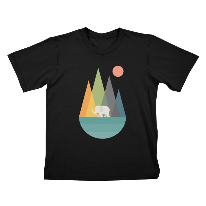 Walk In Peace Kids T-Shirt by andywestface's Artist Shop