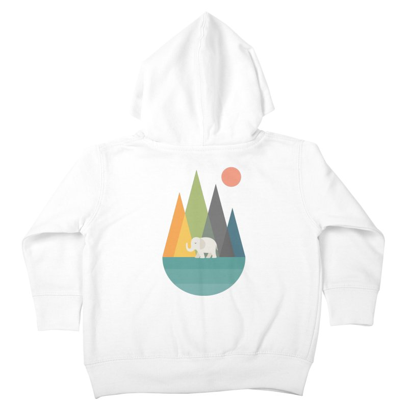 Walk In Peace Kids Toddler Zip-Up Hoody by andywestface's Artist Shop