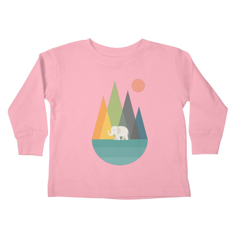 Walk In Peace Kids Toddler Longsleeve T-Shirt by andywestface's Artist Shop