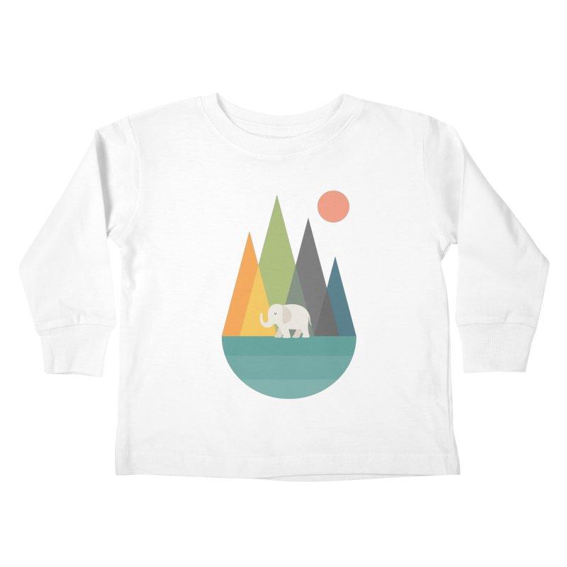 Walk In Peace Kids Toddler Longsleeve T-Shirt by andywestface's Artist Shop
