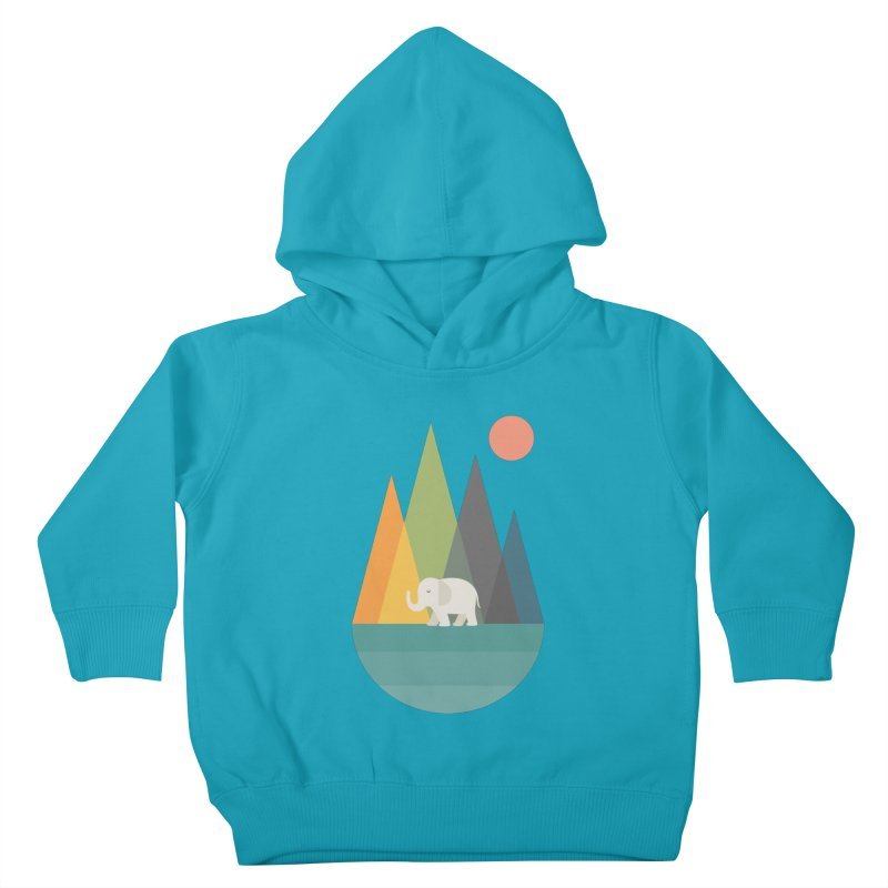 Walk In Peace Kids Toddler Pullover Hoody by andywestface's Artist Shop