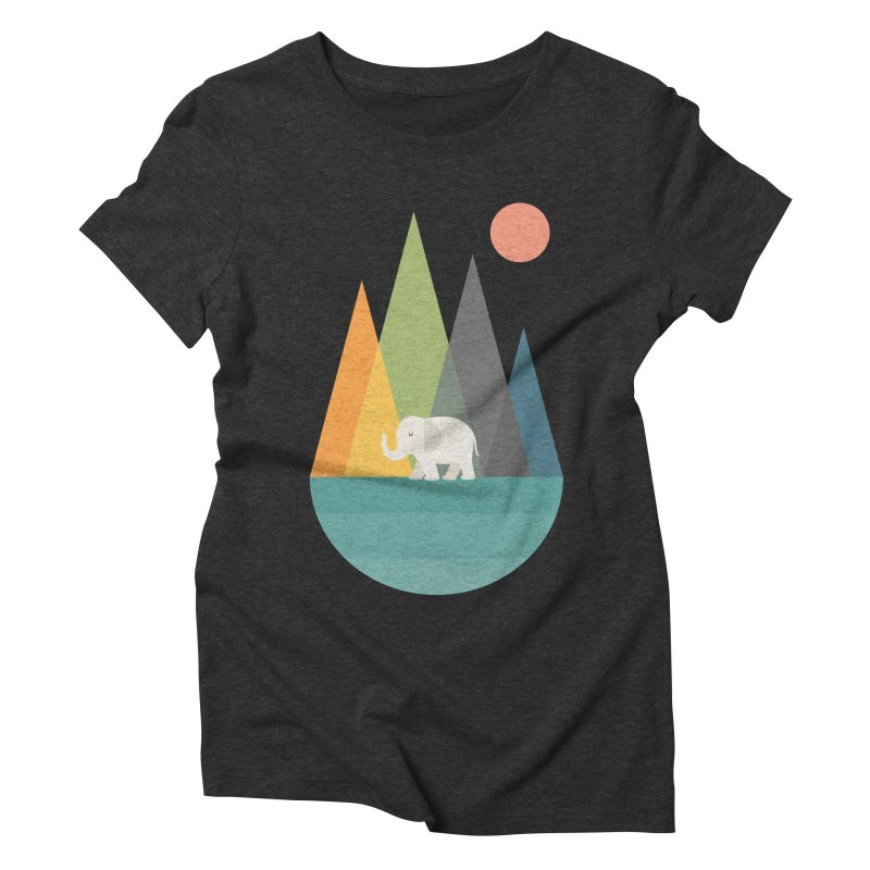 Walk In Peace Women's Triblend T-Shirt by andywestface's Artist Shop