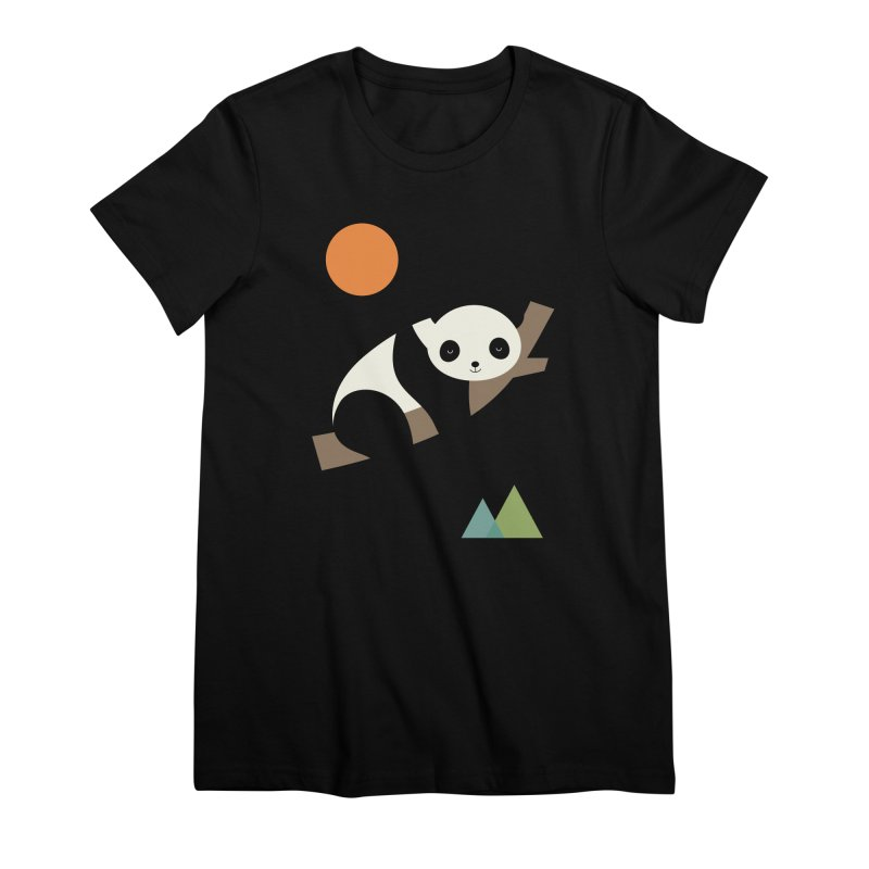 Lazy Day Women's Premium T-Shirt by andywestface's Artist Shop