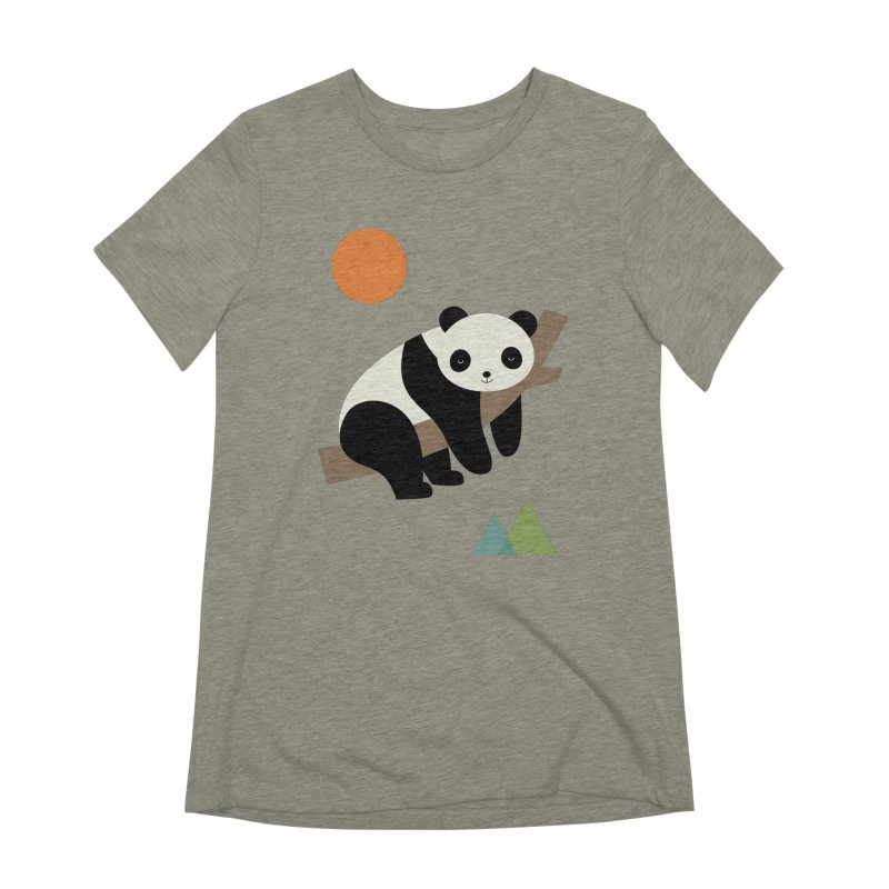Lazy Day Women's Extra Soft T-Shirt by andywestface's Artist Shop