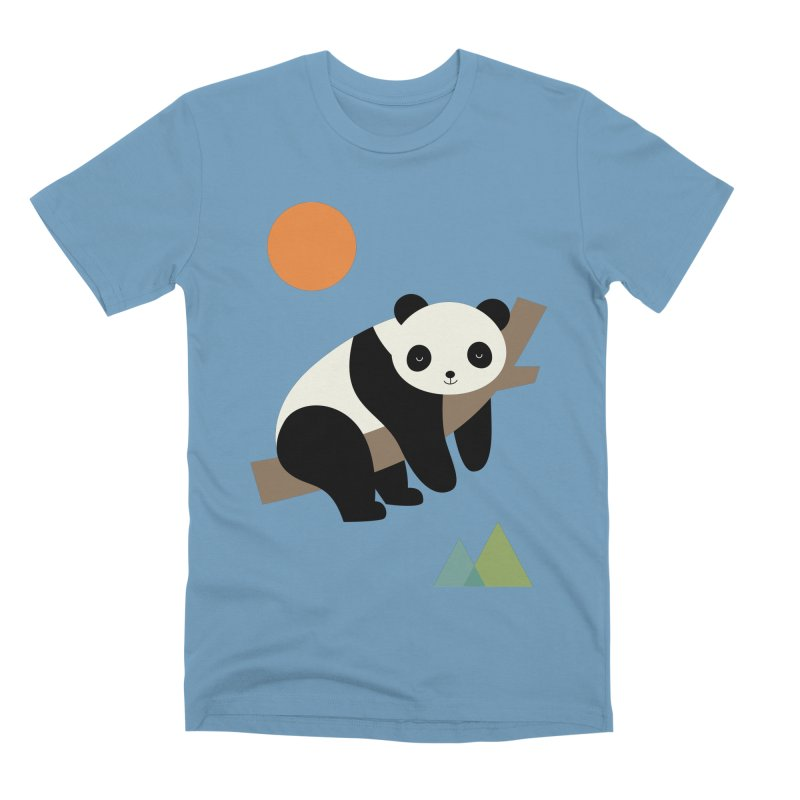 Lazy Day Men's Premium T-Shirt by andywestface's Artist Shop