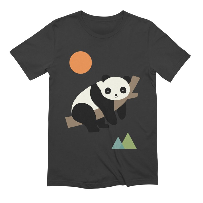 Lazy Day Men's Extra Soft T-Shirt by andywestface's Artist Shop