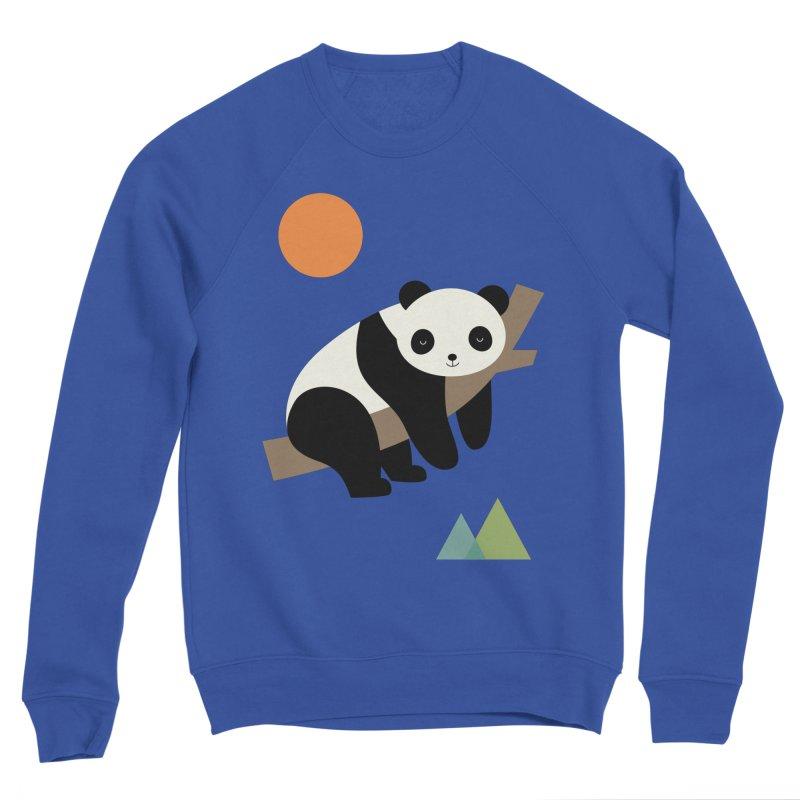 Lazy Day Men's Sponge Fleece Sweatshirt by andywestface's Artist Shop