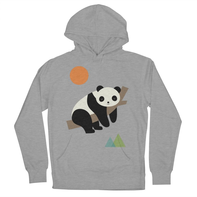 Lazy Day Women's French Terry Pullover Hoody by andywestface's Artist Shop