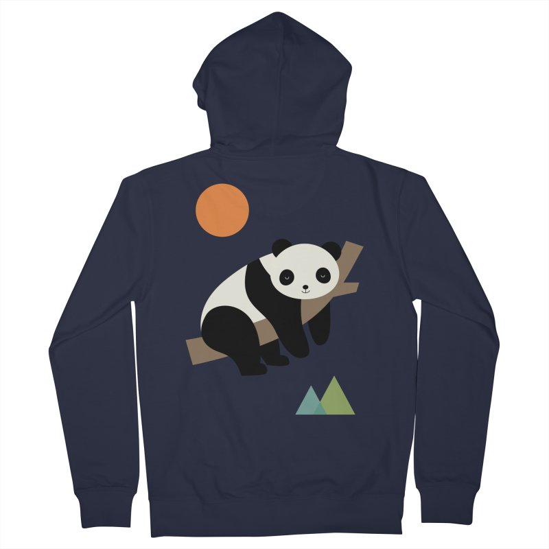 Lazy Day Women's French Terry Zip-Up Hoody by andywestface's Artist Shop