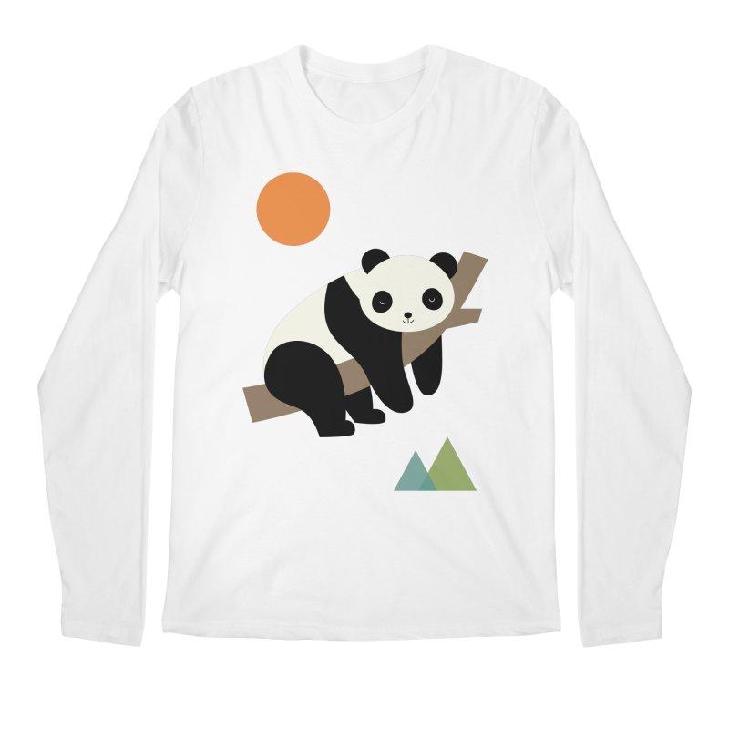 Lazy Day Men's Regular Longsleeve T-Shirt by andywestface's Artist Shop