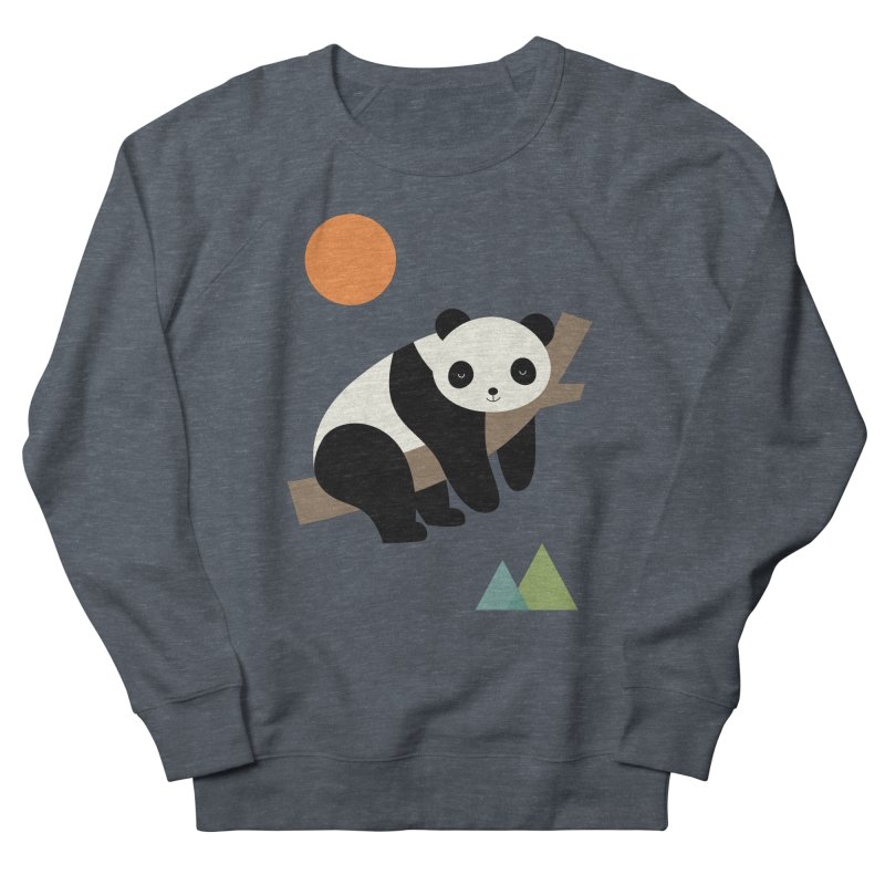 Lazy Day Women's French Terry Sweatshirt by andywestface's Artist Shop