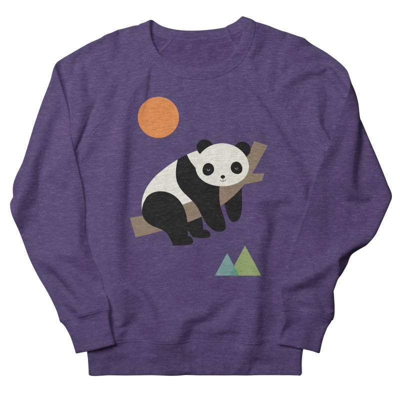 Lazy Day Men's French Terry Sweatshirt by andywestface's Artist Shop