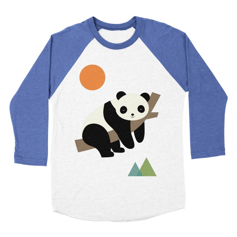 Lazy Day Men's Baseball Triblend Longsleeve T-Shirt by andywestface's Artist Shop