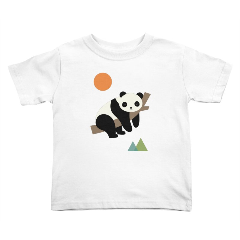 Lazy Day Kids Toddler T-Shirt by andywestface's Artist Shop