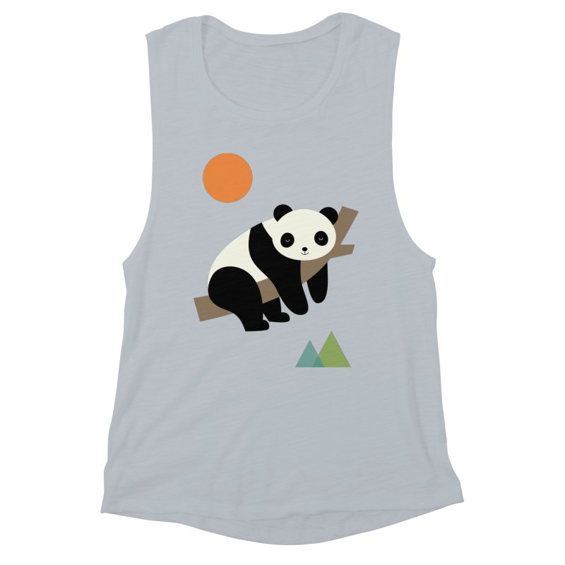Lazy Day Women's Muscle Tank by andywestface's Artist Shop