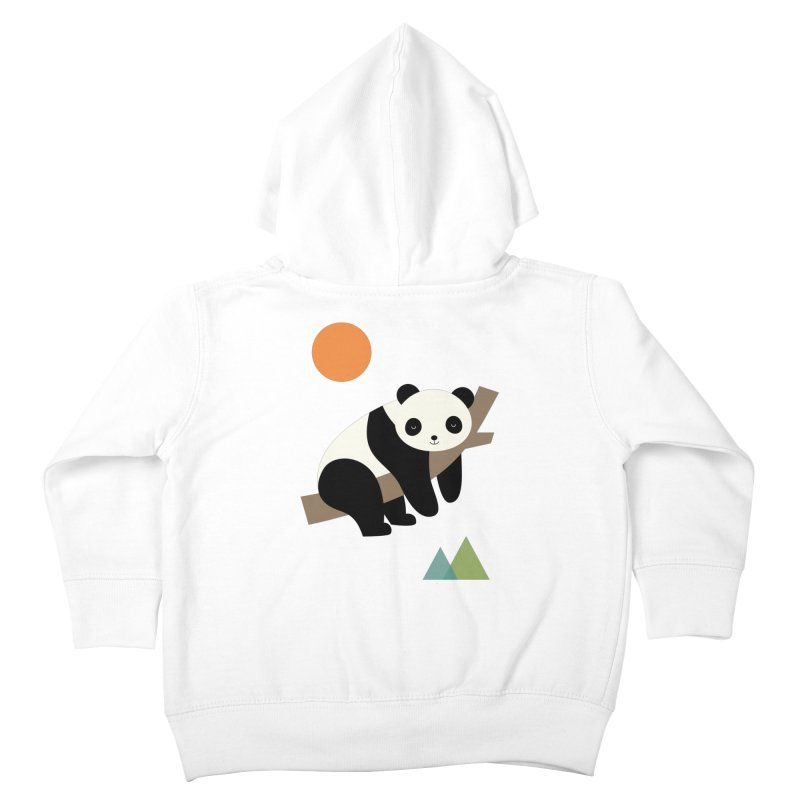 Lazy Day Kids Toddler Zip-Up Hoody by andywestface's Artist Shop