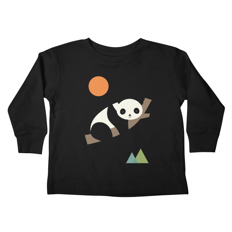 Lazy Day Kids Toddler Longsleeve T-Shirt by andywestface's Artist Shop