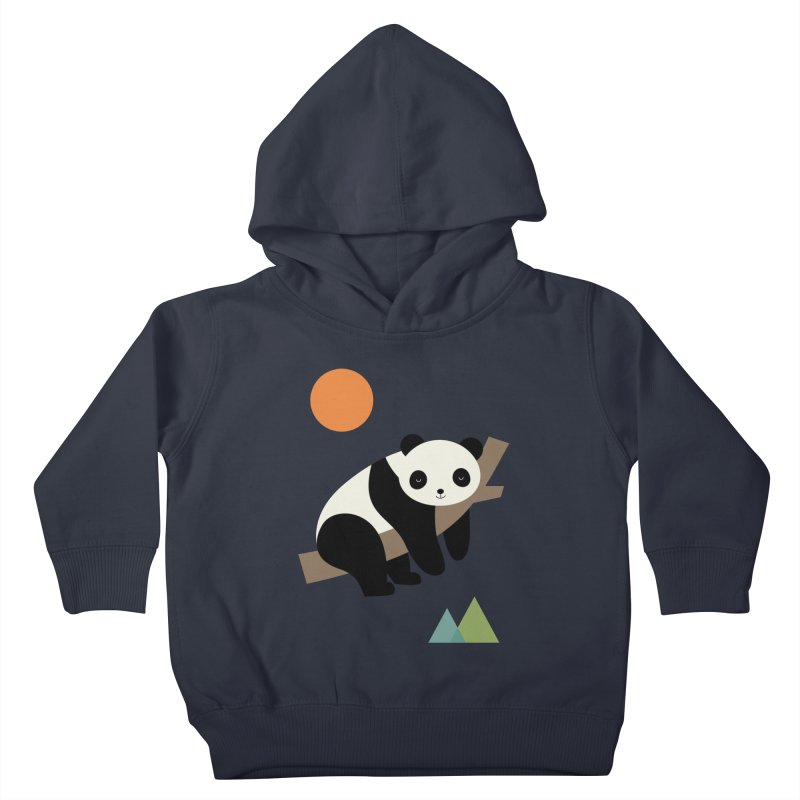 Lazy Day Kids Toddler Pullover Hoody by andywestface's Artist Shop