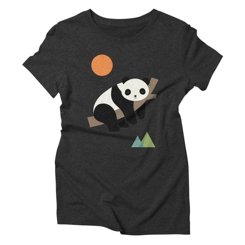 Lazy Day Women's Triblend T-Shirt by andywestface's Artist Shop
