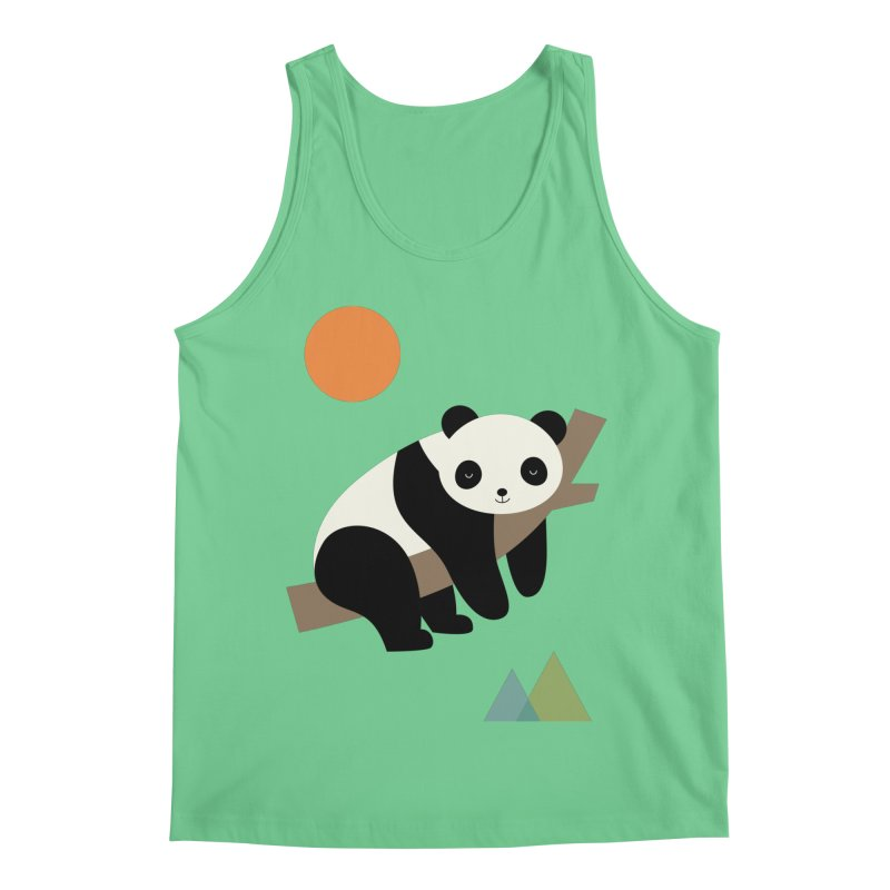 Lazy Day Men's Regular Tank by andywestface's Artist Shop