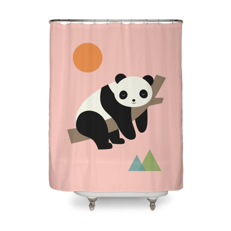 Lazy Day Home Shower Curtain by andywestface's Artist Shop