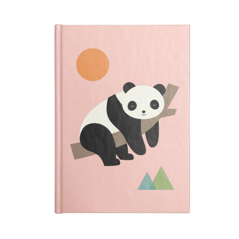 Lazy Day Accessories Lined Journal Notebook by andywestface's Artist Shop
