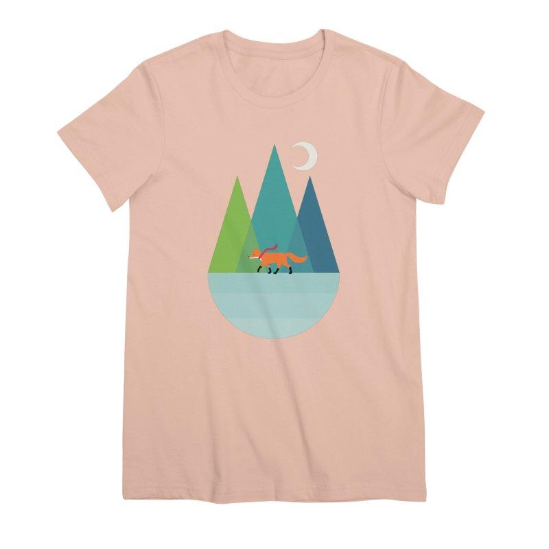 Walk Alone Women's Premium T-Shirt by andywestface's Artist Shop