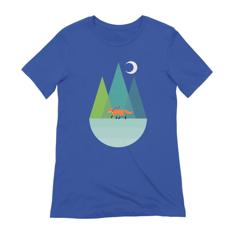 Walk Alone Women's Extra Soft T-Shirt by andywestface's Artist Shop