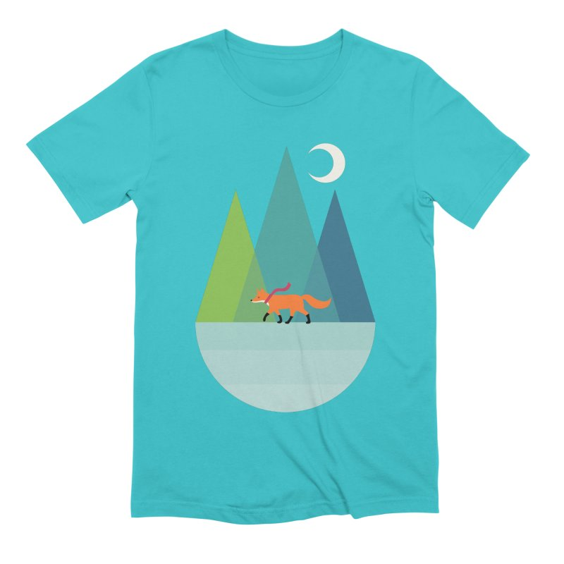 Walk Alone Men's Extra Soft T-Shirt by andywestface's Artist Shop