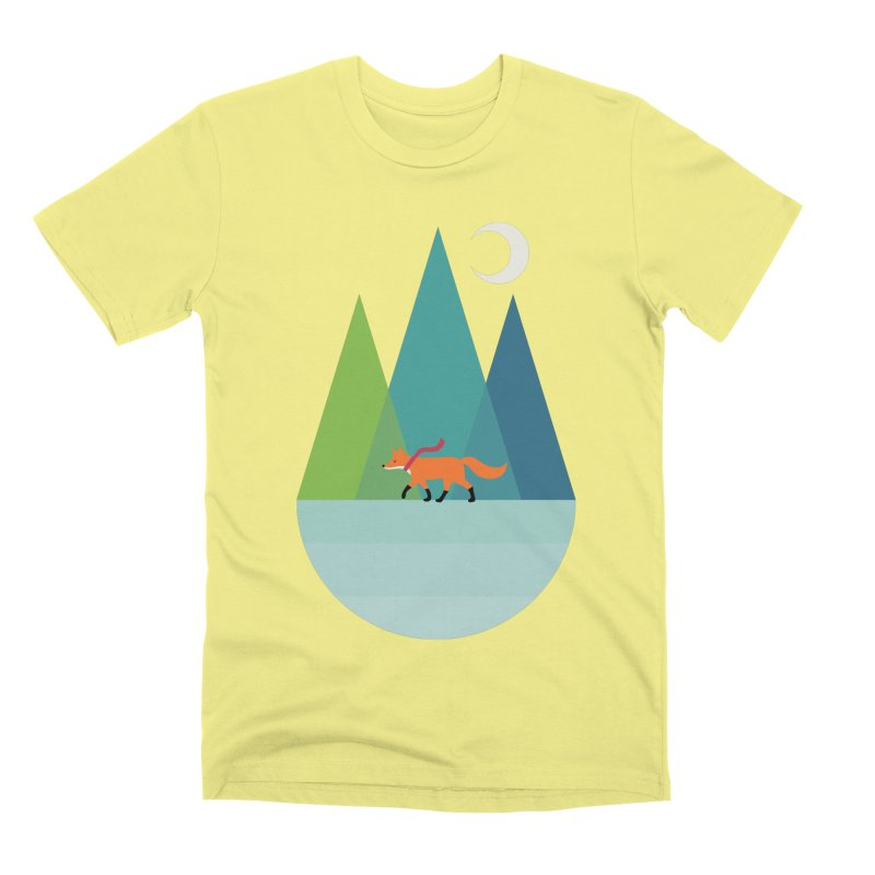 Walk Alone Men's Premium T-Shirt by andywestface's Artist Shop