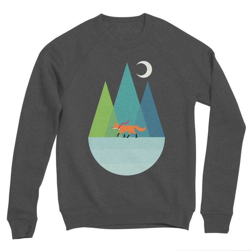 Walk Alone Women's Sponge Fleece Sweatshirt by andywestface's Artist Shop