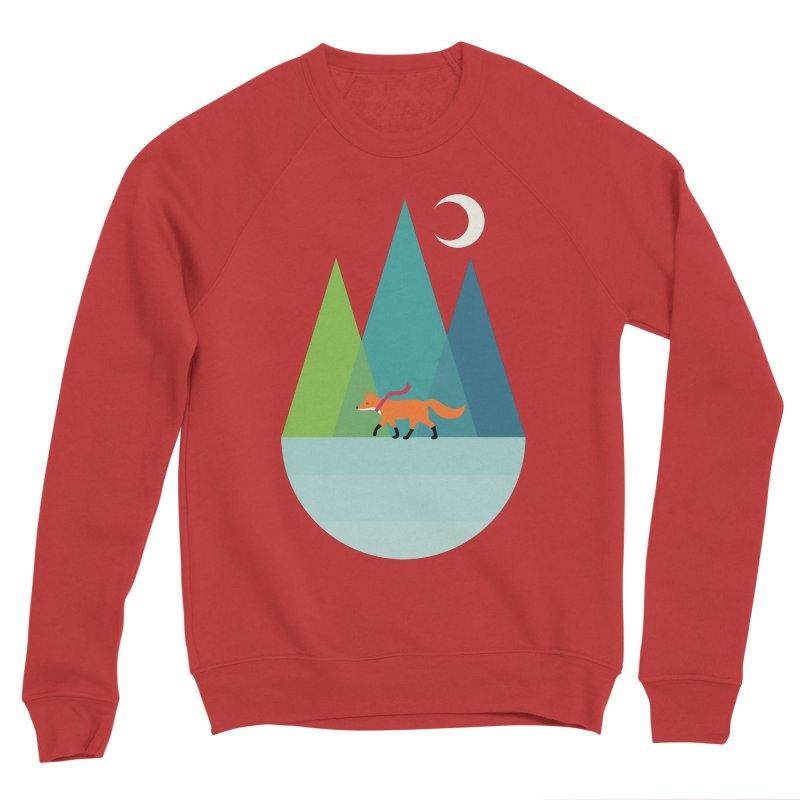 Walk Alone Men's Sponge Fleece Sweatshirt by andywestface's Artist Shop