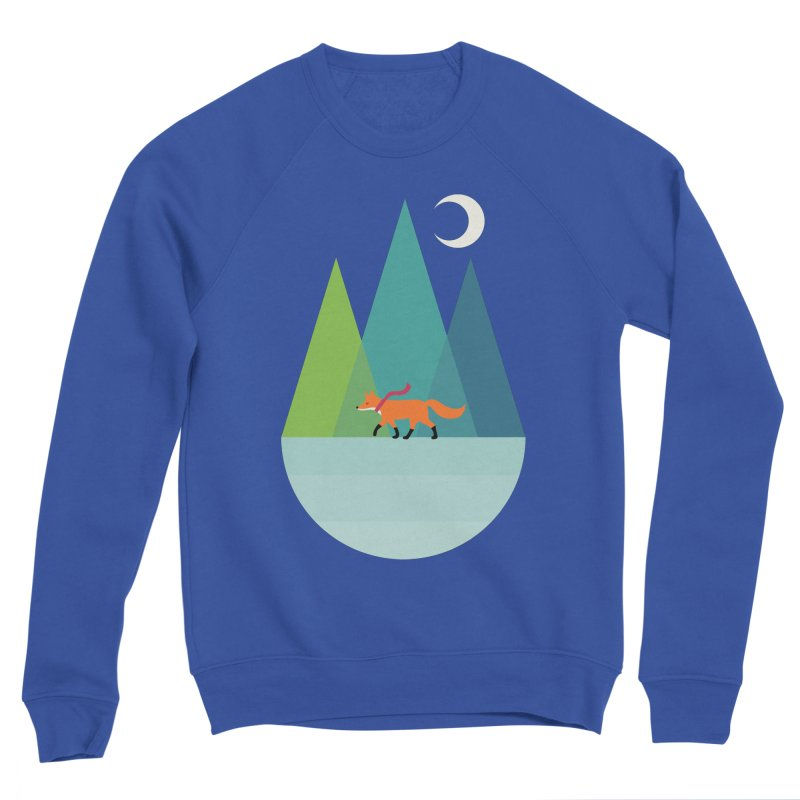 Walk Alone Men's Sponge Fleece Sweatshirt by andywestface's Artist Shop
