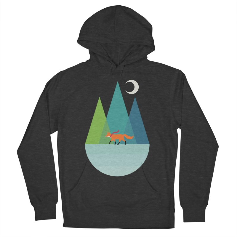 Walk Alone Women's French Terry Pullover Hoody by andywestface's Artist Shop