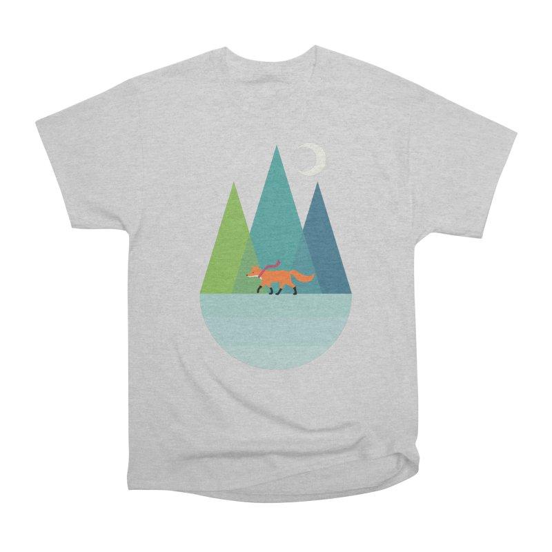 Walk Alone Men's Heavyweight T-Shirt by andywestface's Artist Shop