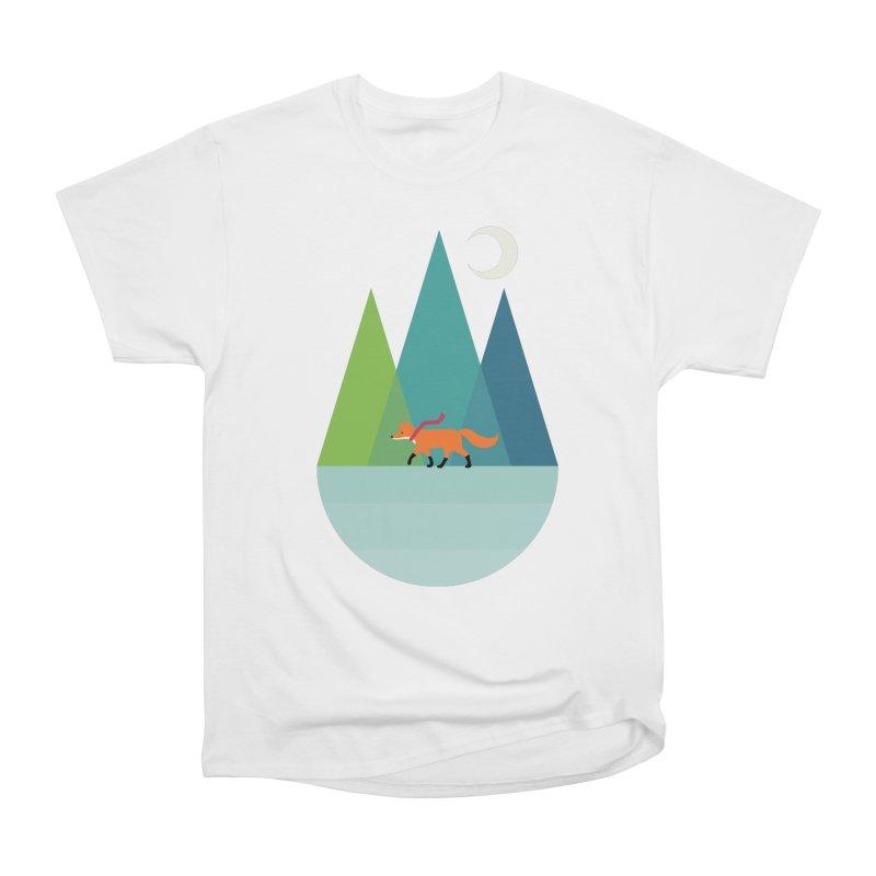 Walk Alone Women's Heavyweight Unisex T-Shirt by andywestface's Artist Shop